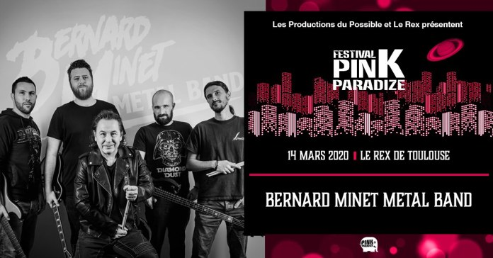 Bernard Minet Metal Band au Rex De Toulouse