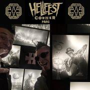 Etienne et Brun'o au Hellfest Corner