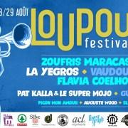 Loupoulo Festival en sud Ardèche au mois d'août