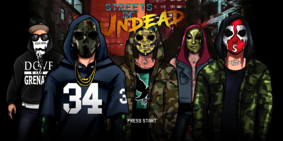 Les membres d'Hollywood Undead