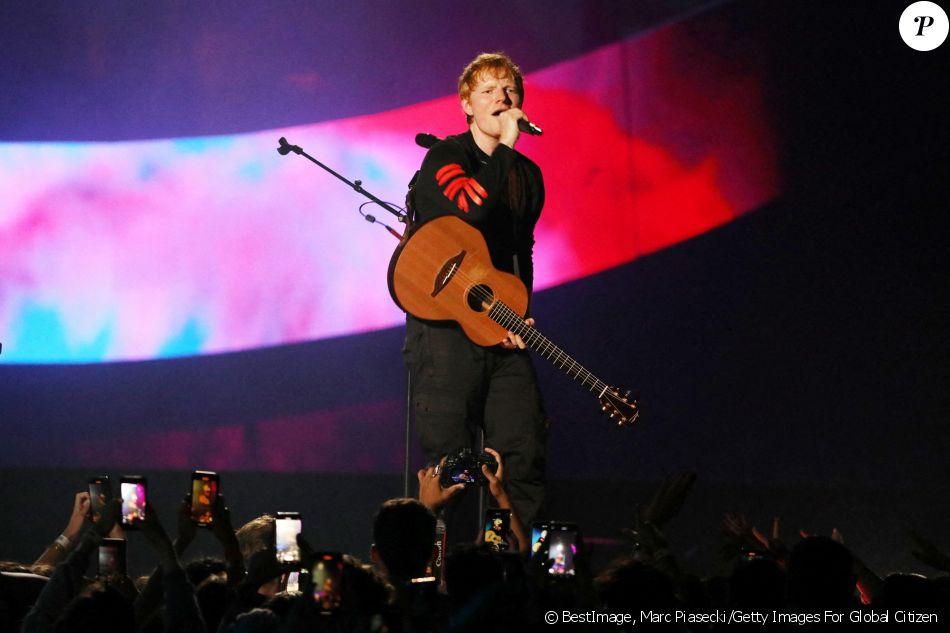 Global citizen live paris Ed Sheeran