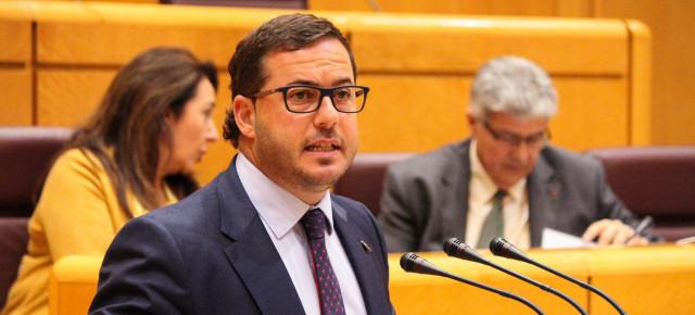 Agustín Almodobar durante su intervención