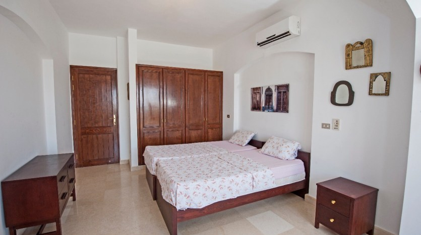 Twin Beds Bedrooms Apartment in Sabina EL Gouna