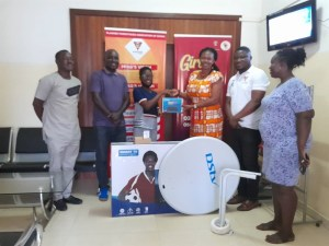 Former Youth Facilitators and Volunteers Donate to PPAG Accra Young & Wise Resource Center.