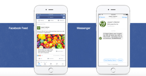 Facebook Feed and Messenger