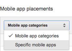 Mobile app placement targeting