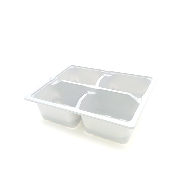 4x Cell Bedding Tray - Gray