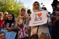 People all around Britain gathered in solidarity following the bombing at Manchester arena