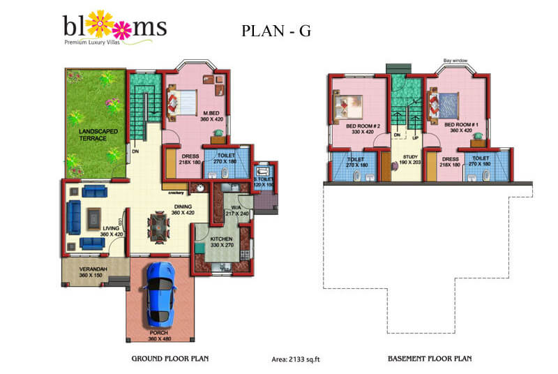 Ground Floor plan - Prime Property Developers