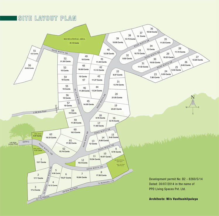 Site Plan - Emerald Hills