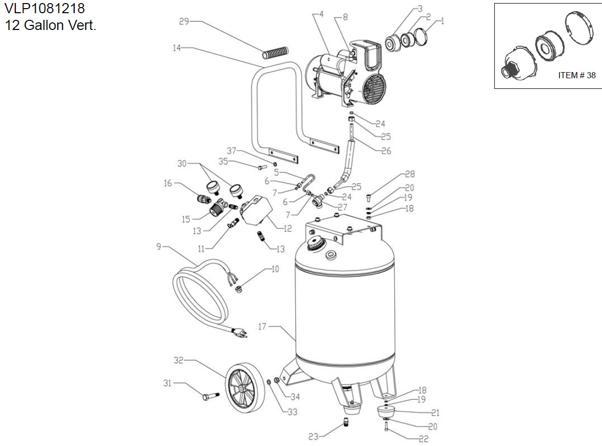 Powermate Air Compressor Parts Articleblogfo