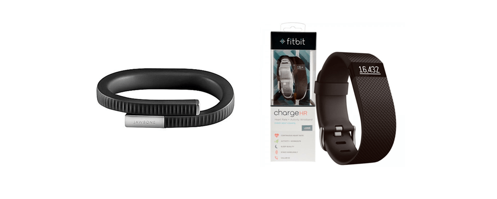 Jawbone UP24 & Fitbit Charge HR