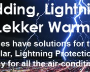 load shedding and lightning strikes