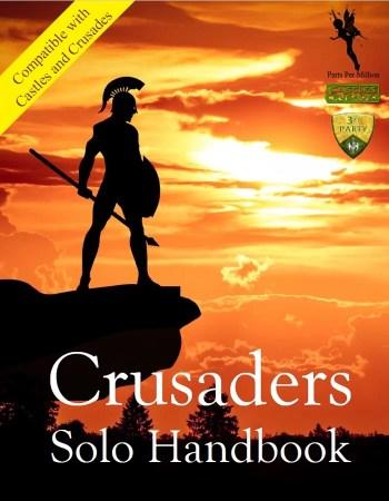 Castles & Crusades Crusaders Solo Handbook Cover