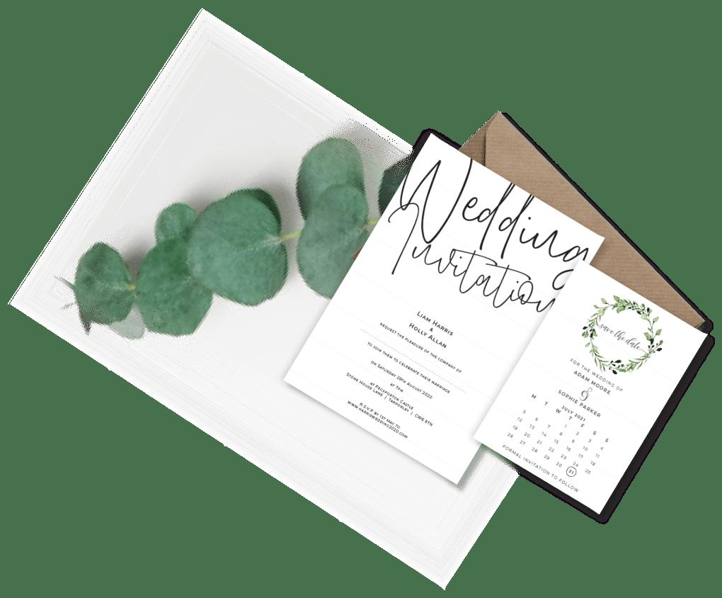 wedding invitation artwork designs