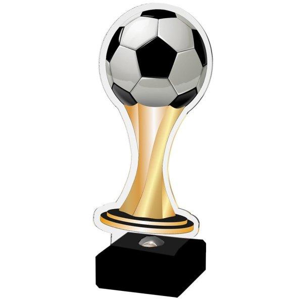 Akrylstatuett Fotball