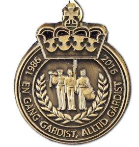 Spesial Gardistmedaljen2 - Hans Majestet Kongens Garde