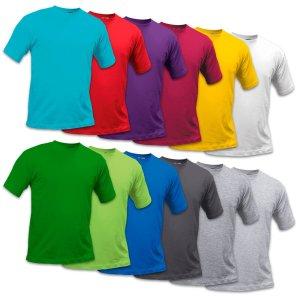 T shirt - T-skjorte Voksen med fargetrykk