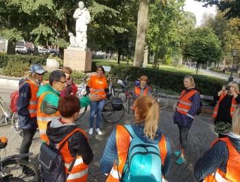 """""""Odjazdowy Bibliotekarz"""" Rajd rowerowo – pieszy Sieci Współpracy i Samokształcenia Nauczycieli w Ełku"""