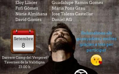 El PP de Tavernes de la Valldigna ha sortejat 8 entrades per al concert d'Antonio Orozco