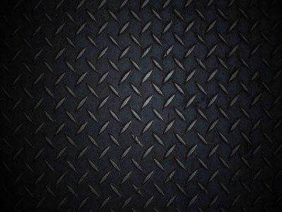 Black Diamond Plate Free PPT Backgrounds For Your