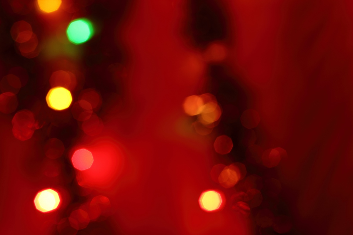 Red Christmas Gift Free PPT Backgrounds For Your