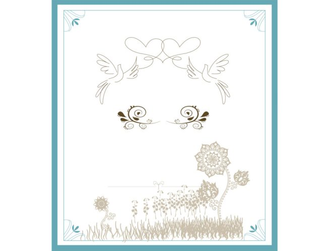 Invitations Diy Wedding Fl Garden Border Have A Lot To Say But I D Rather Let The Design Do All Talking