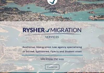 Diseño web – Rysher Migration