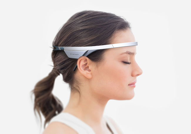 Wearable meditation headset