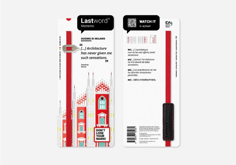 Lastword bookmark for museum