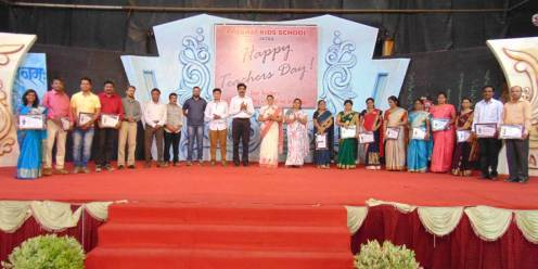 Teachers of 'Prabhat' warmly felicitated on the occasion of Teachers' Day