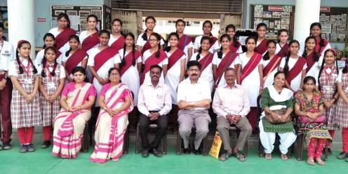 Team DNYA, School, Solapur paid an educational visit to Prabhat Kids School, Akola