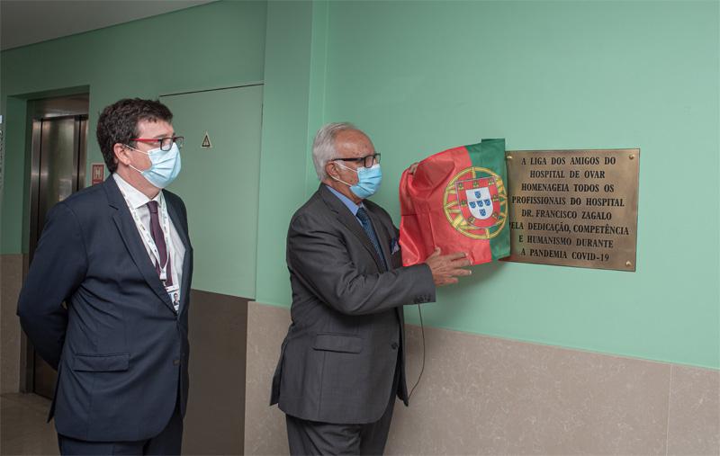 Hospital de Ovar comemorou o 54ºaniversário com homenagem aos seus profissionais de saúde