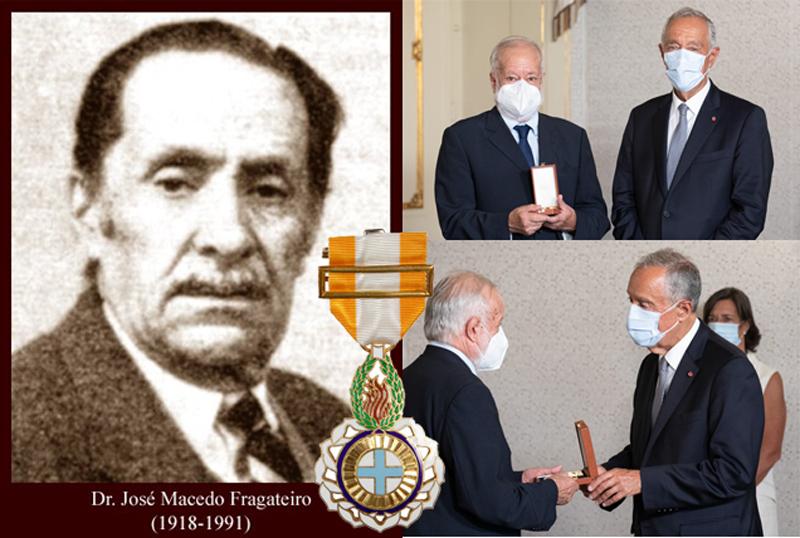 Presidente da República agraciou José Macedo Fragateiro