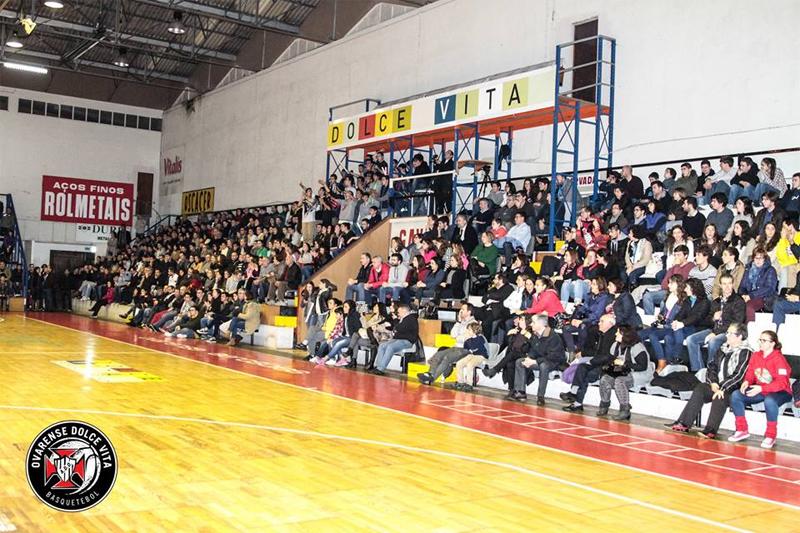 Basquetebol: Ovarense vai continuar no pavilhão Raimundo Rodrigues