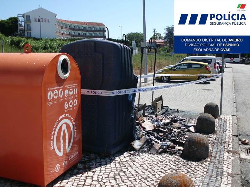 Prisão preventiva para autor de vandalismo em Ovar
