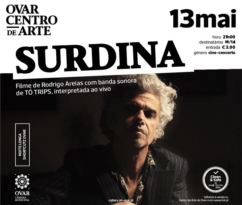 """""""Surdina"""" abre quinta temporada do Shortcutz Ovar"""