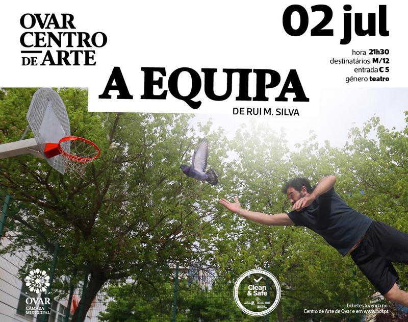 "Rui Silva e Afonso Cruz apresentaram ""A Equipa"""