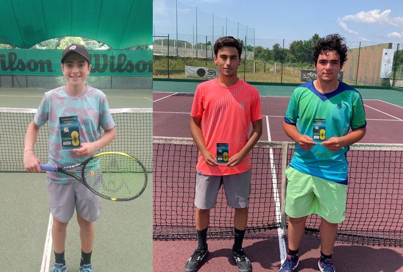 Ténis: Dinis Gomes, José Diogo, Gaspar Gomes e Carlos Afonso sagraram-se campeões regionais