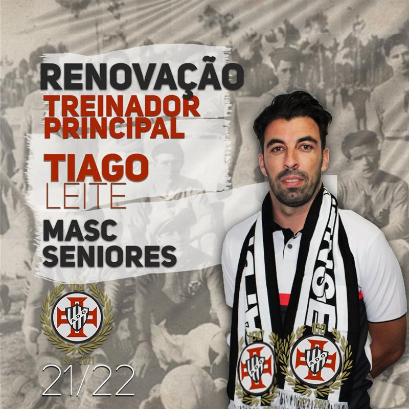 Futebol masculino: Ovarense renovou com Tiago Leite