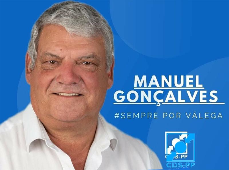 Eleições Autárquicas: CDS recandidata Manuel Gonçalves à Junta de Freguesia e Válega