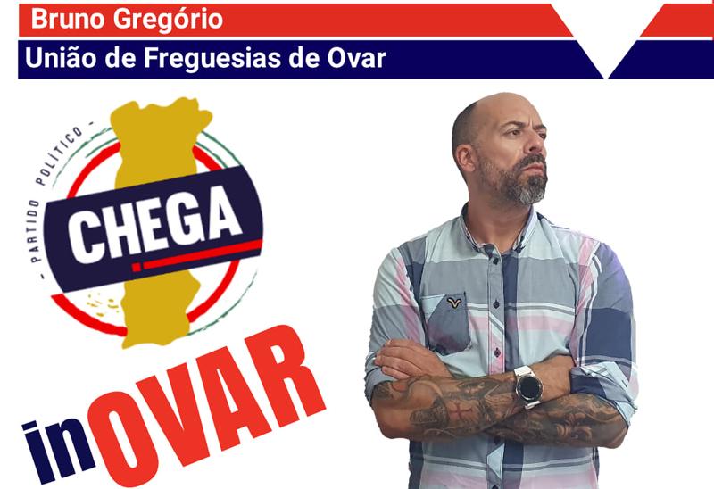 Eleições autárquicas: Bruno Gregório é o candidato do CHEGA à União de Freguesias