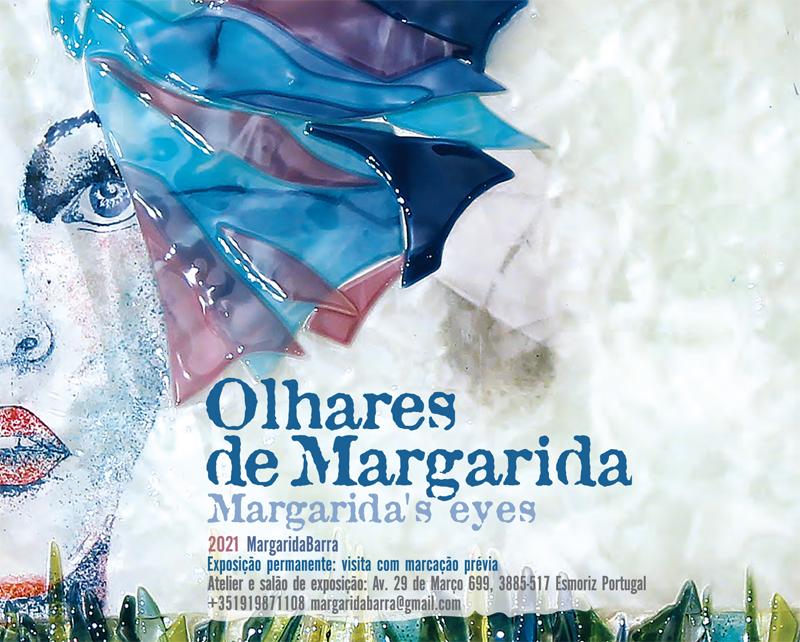 "Margarida Barra expõe ""Olhares de Margarida"""