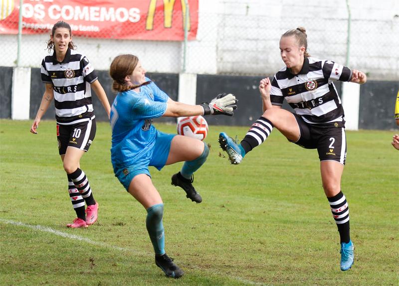 Futebol feminino: Vareiras empataram frente ao Rio Ave