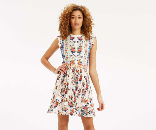 Dresses from Oasis, Monsoon & Zara 1