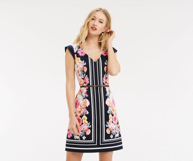 Dresses from Oasis, Monsoon & Zara 2