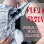 Nosidło Fidella Fusion z płynną regulacją wielkości