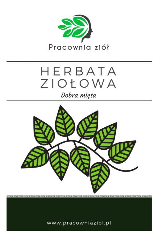 Herbata ziołowa dobra mięta