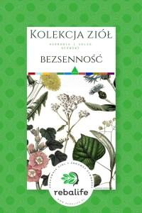 zioła na bezsenność etykiety, mieszanki ziołowe, rebalife Karta produktu Pracownia ziół i zdrowej żywności Rebalife-45