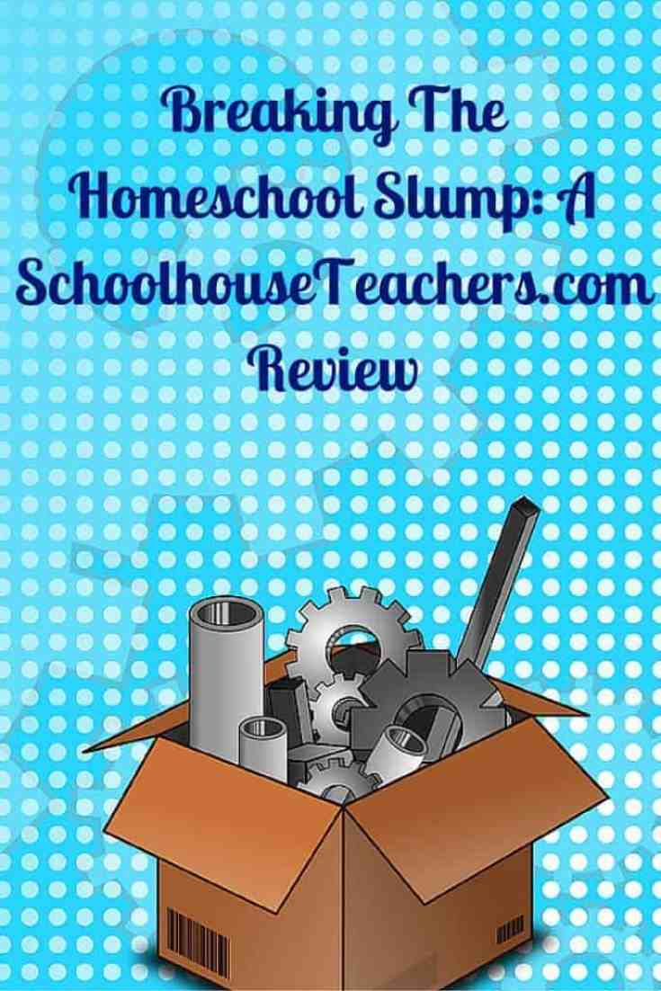 Sharing my Secret weapon to breaking the homeschool slump: A schoolhouseTeachers.com Review